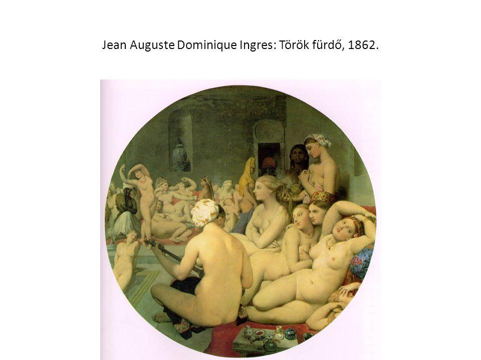 Jean Auguste Dominique Ingres: Török fürdő, 1862.