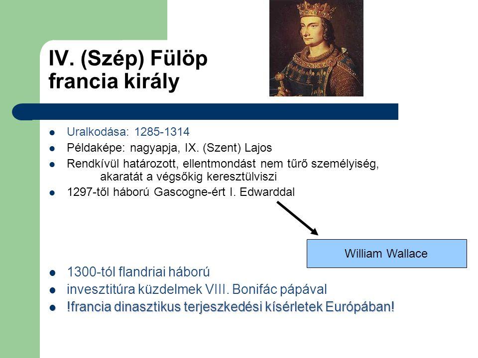 IV. (Szép) Fülöp francia király