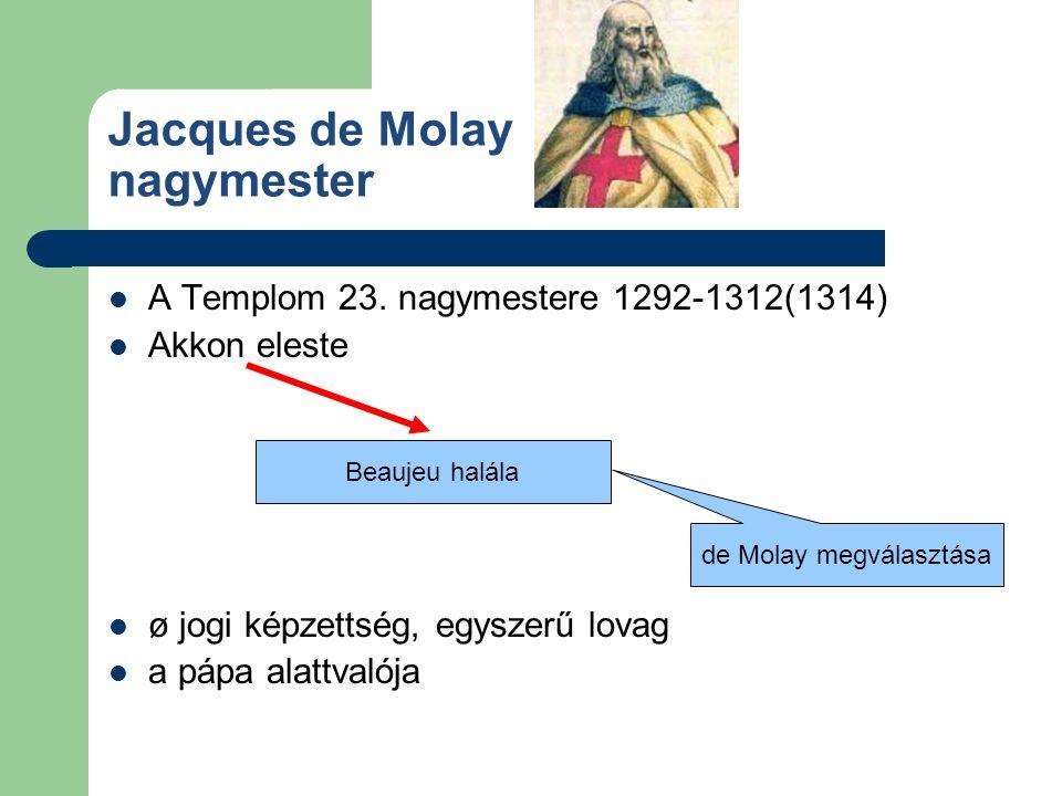 Jacques de Molay nagymester