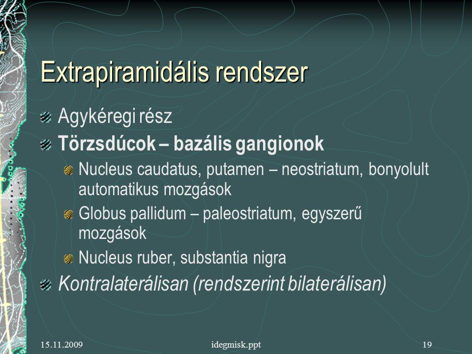Extrapiramidális rendszer