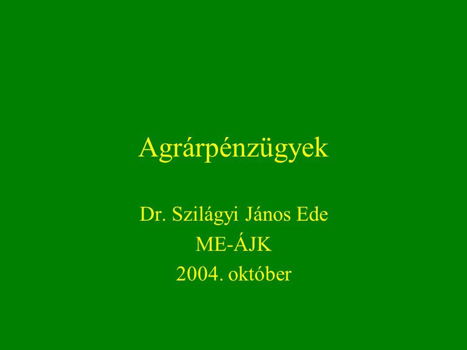 Dr. Szilágyi János Ede ME-ÁJK 2004. október