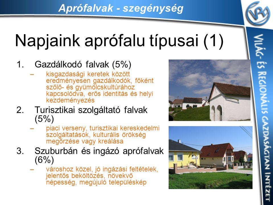 Napjaink aprófalu típusai (1)