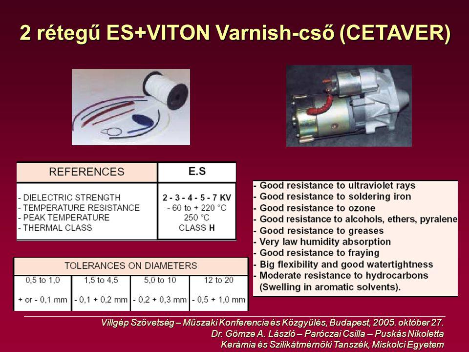 2 rétegű ES+VITON Varnish-cső (CETAVER)