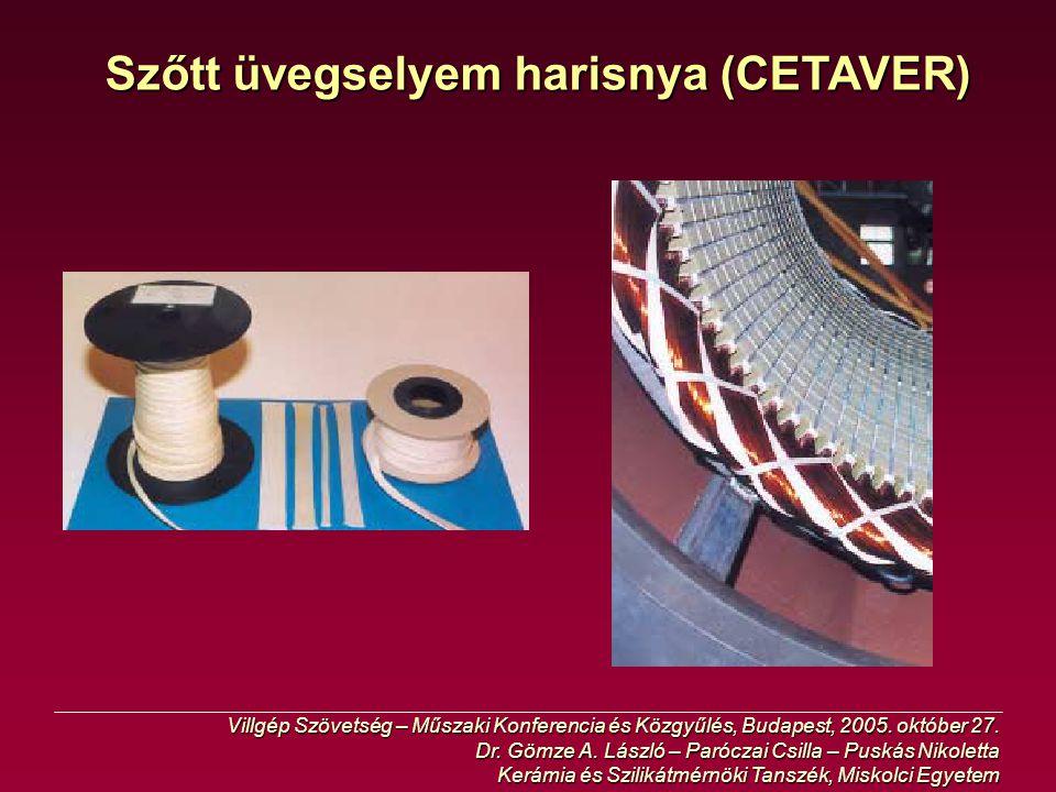 Szőtt üvegselyem harisnya (CETAVER)
