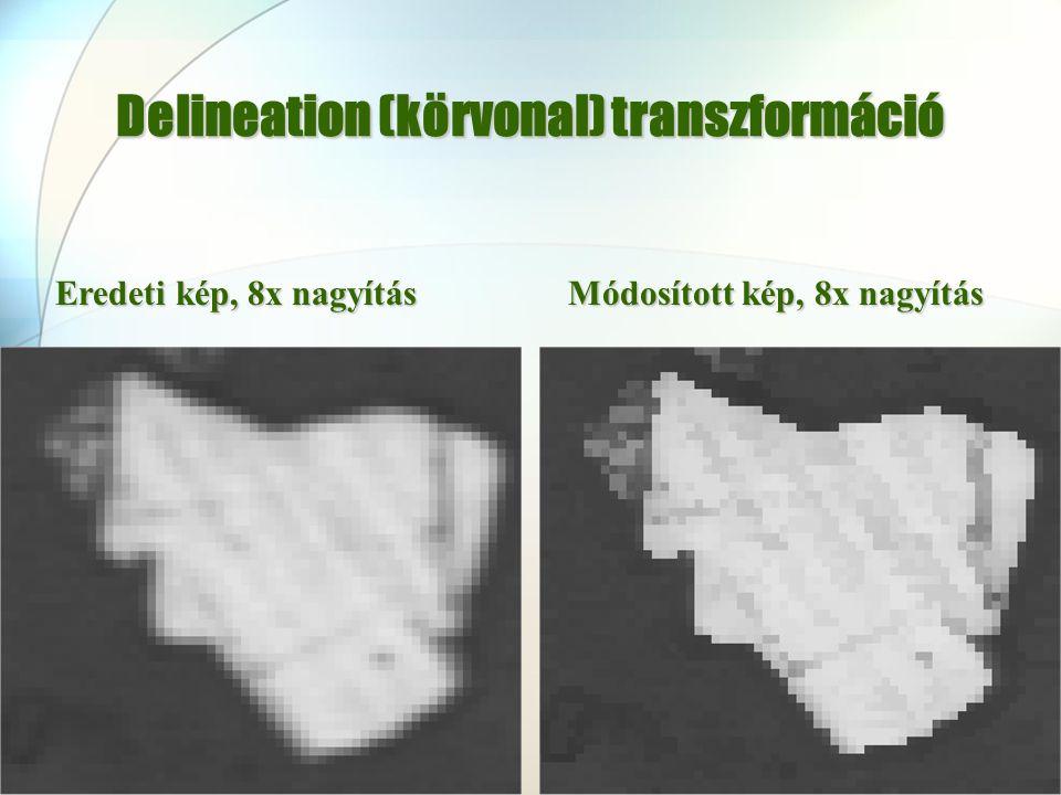 Delineation (körvonal) transzformáció