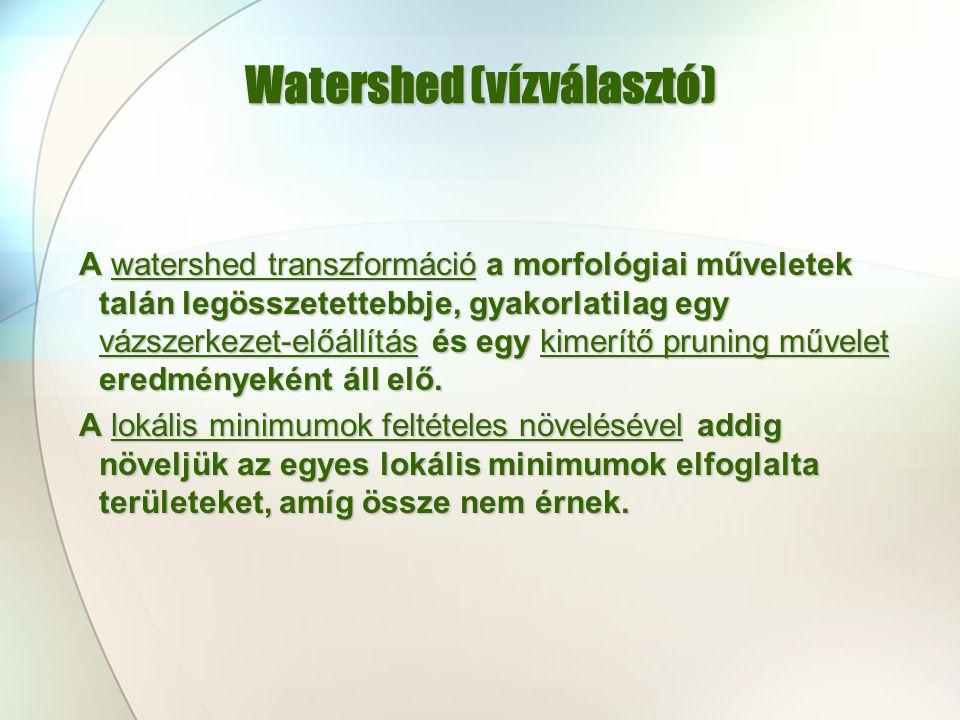 Watershed (vízválasztó)