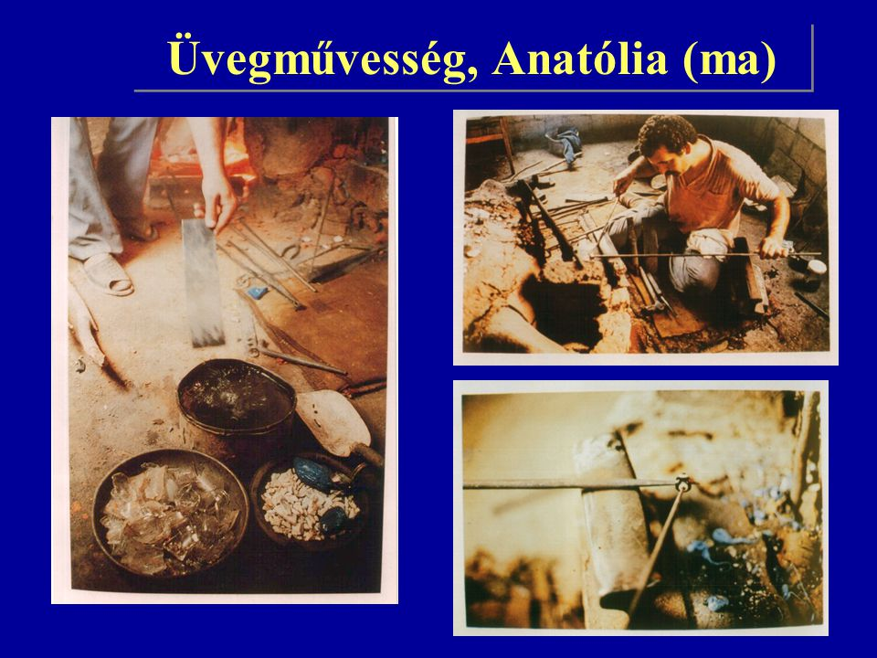 Üvegművesség, Anatólia (ma)