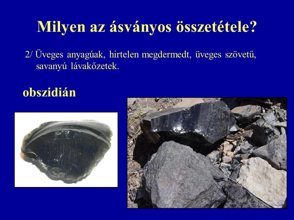 Milyen az ásványos összetétele