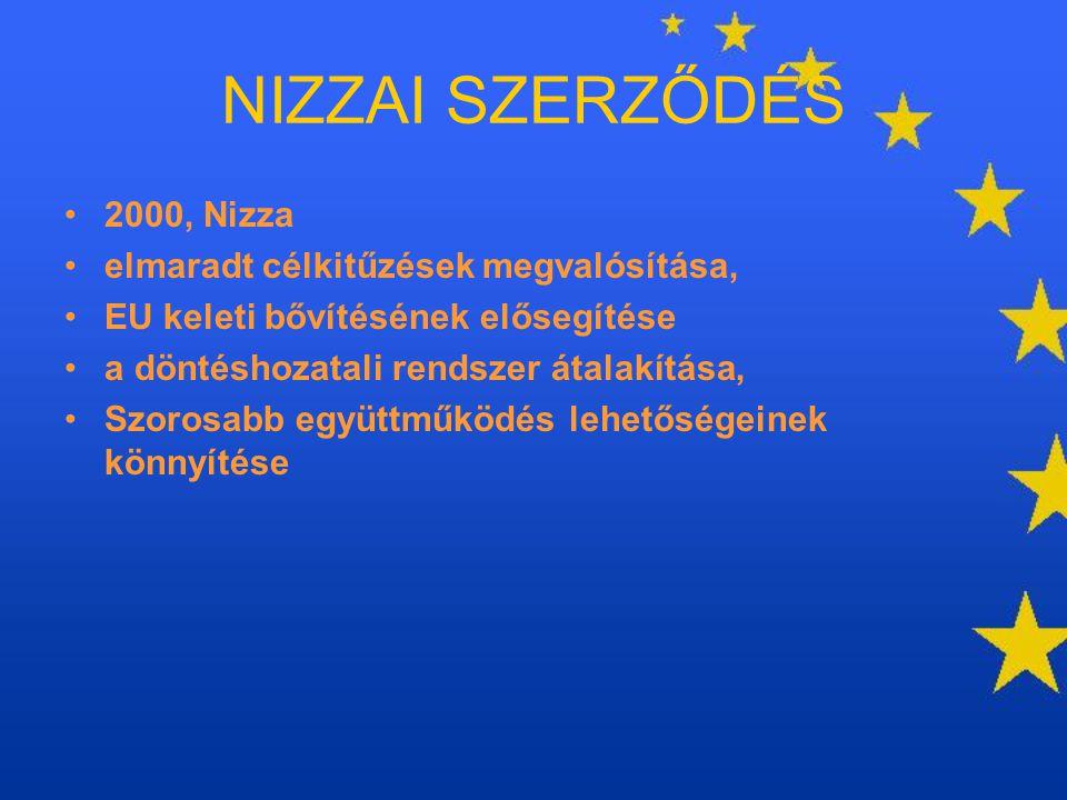 NIZZAI SZERZŐDÉS 2000, Nizza elmaradt célkitűzések megvalósítása,