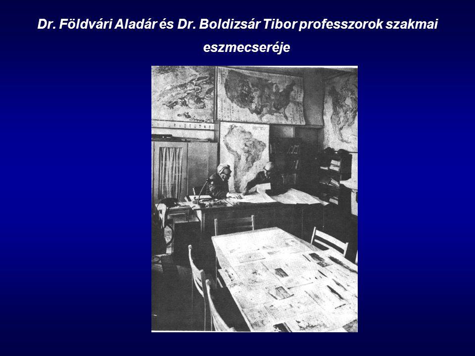 Dr. Földvári Aladár és Dr