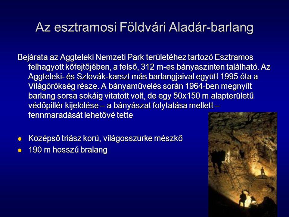 Az esztramosi Földvári Aladár-barlang