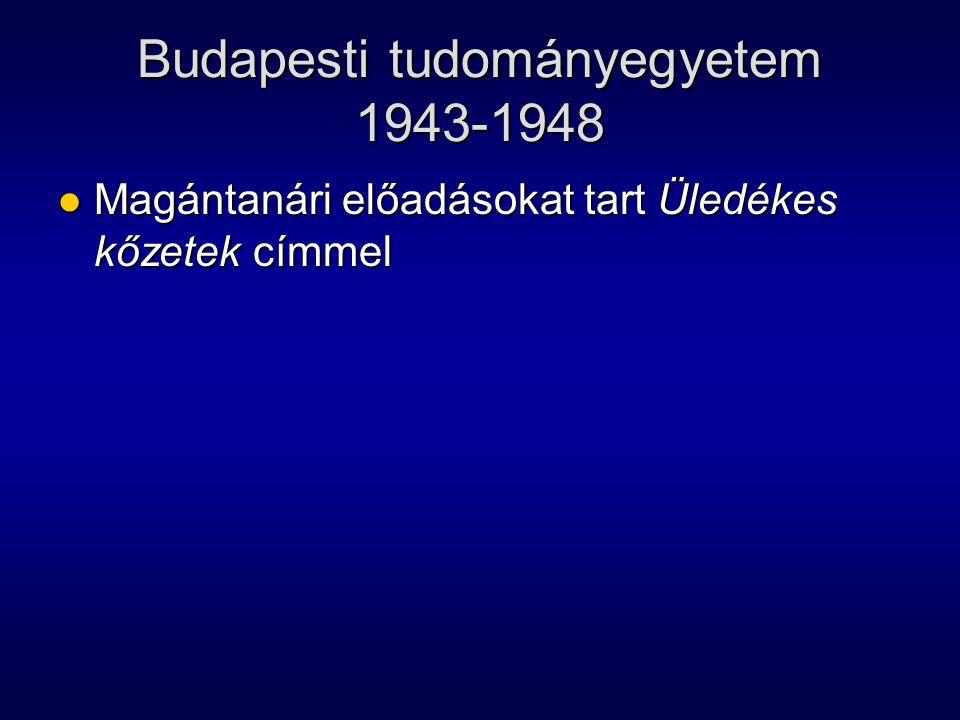 Budapesti tudományegyetem 1943-1948