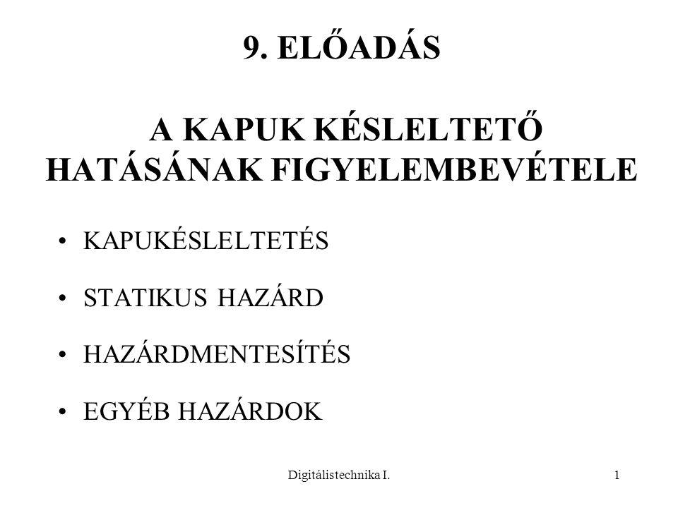 9. ELŐADÁS A KAPUK KÉSLELTETŐ HATÁSÁNAK FIGYELEMBEVÉTELE