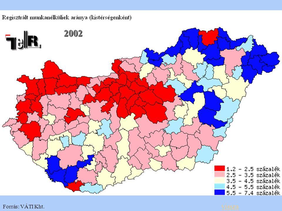 2002 Forrás: VÁTI Kht. vissza