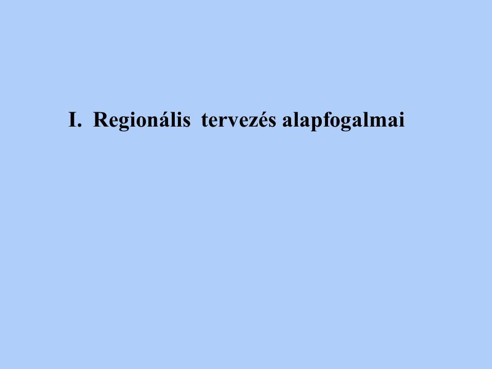 Regionális tervezés alapfogalmai