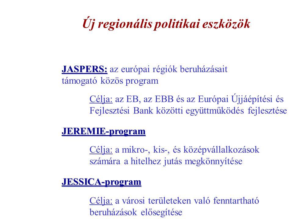Új regionális politikai eszközök