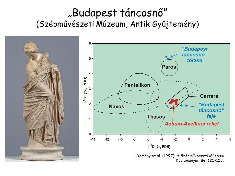 """""""Budapest táncosnő (Szépművészeti Múzeum, Antik Gyűjtemény)"""