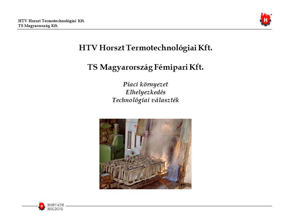 HTV Horszt Termotechnológiai Kft. TS Magyarország Fémipari Kft