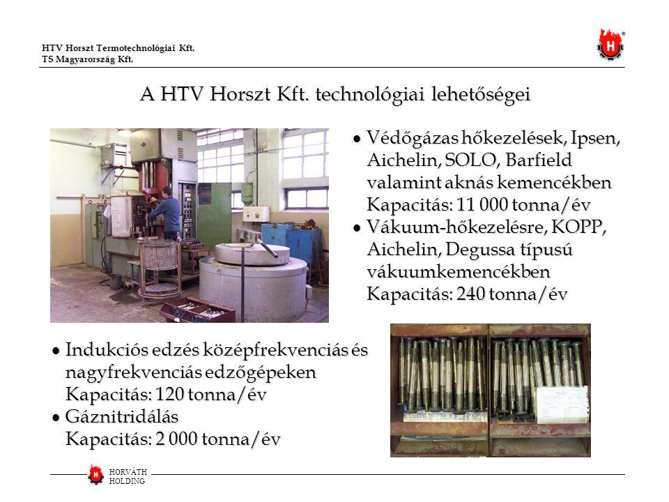A HTV Horszt Kft. technológiai lehetőségei