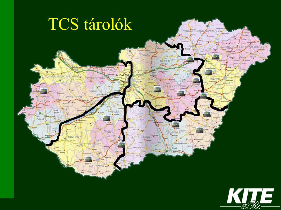 TCS tárolók