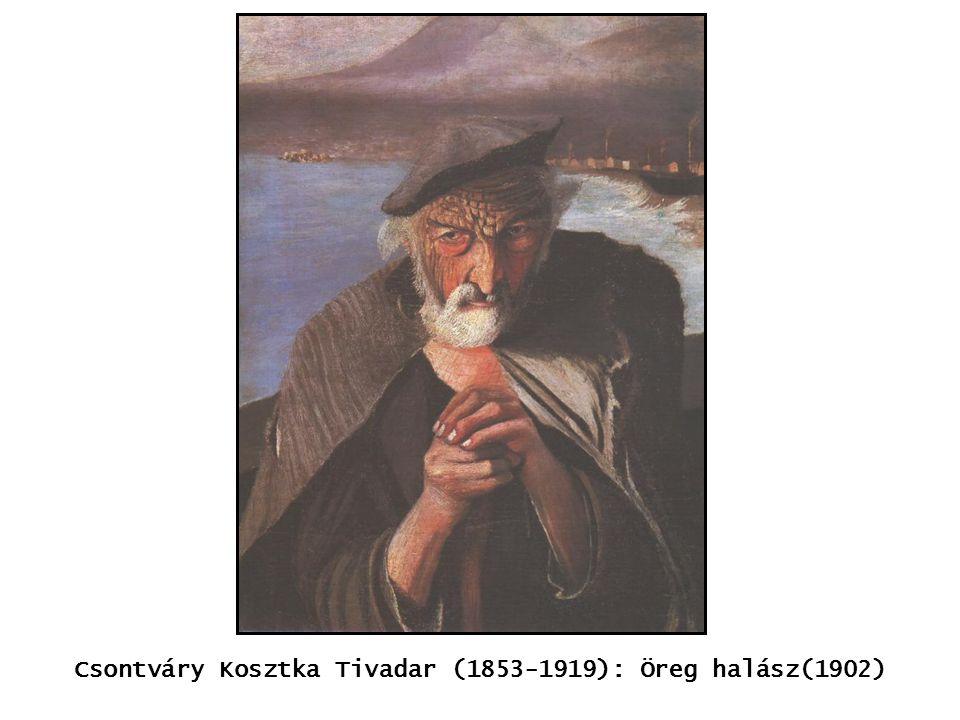 kép Csontváry Kosztka Tivadar (1853-1919): Öreg halász(1902)