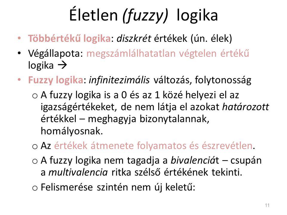 Életlen (fuzzy) logika