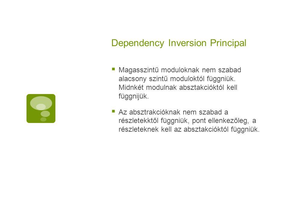 Dependency Inversion Principal