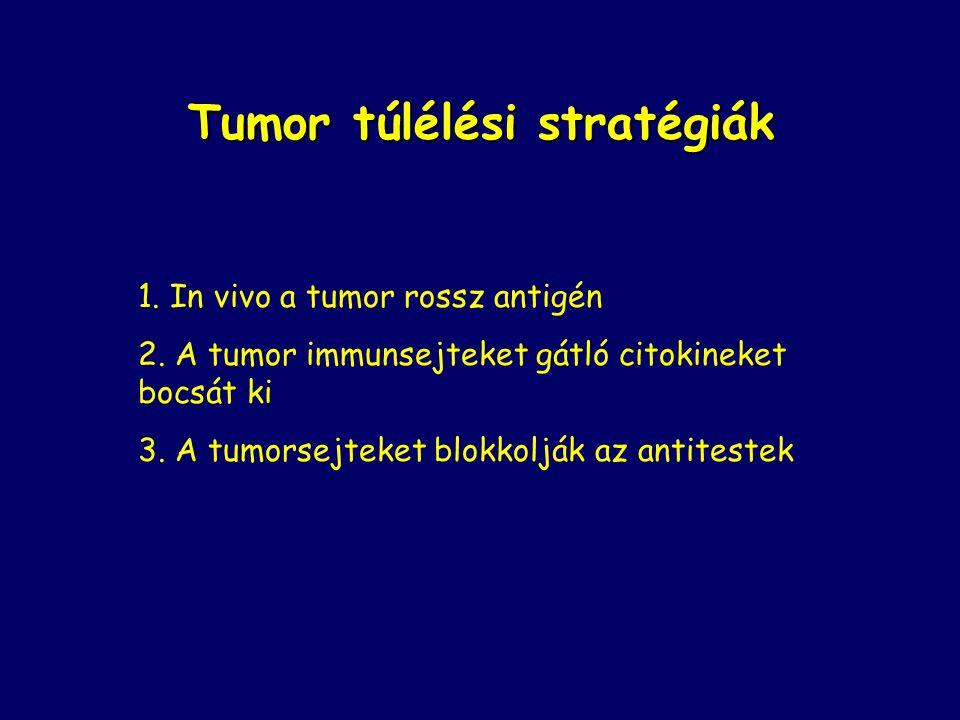 Tumor túlélési stratégiák