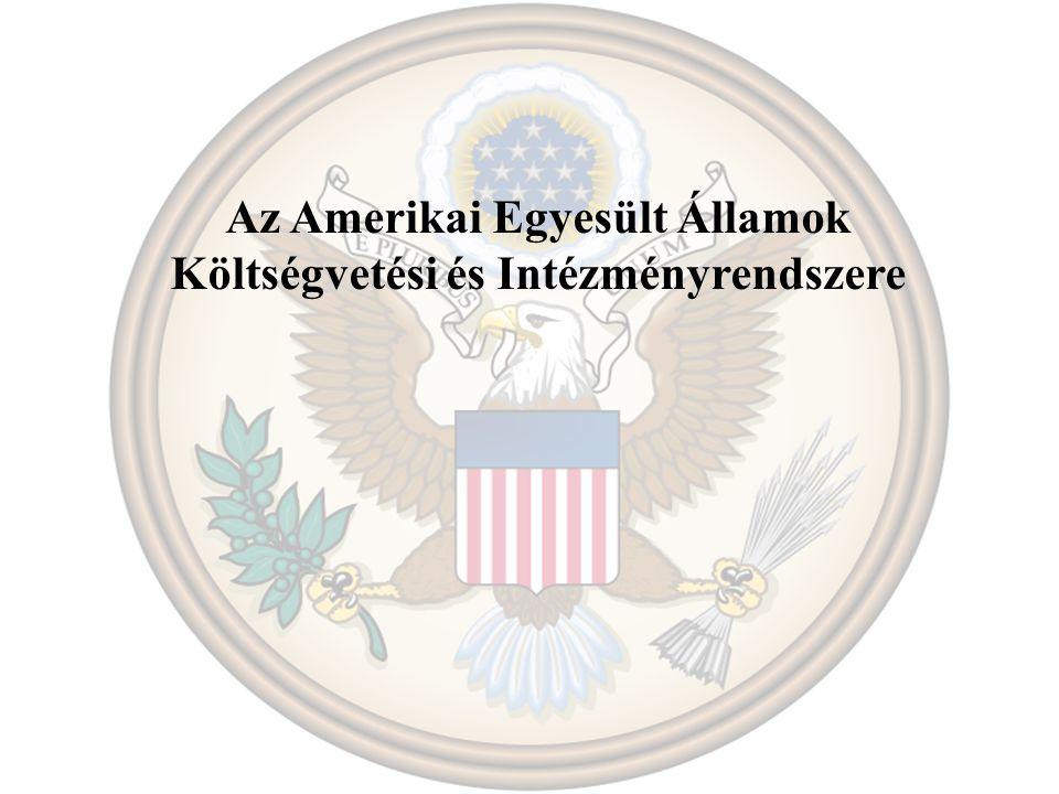 Az Amerikai Egyesült Államok Költségvetési és Intézményrendszere