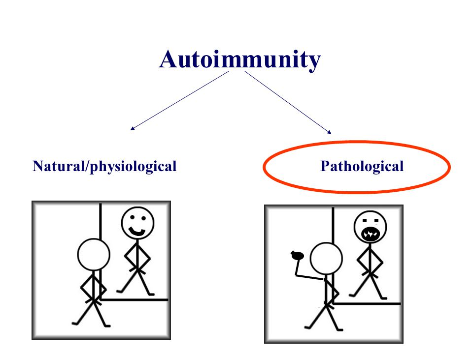 Autoimmunity Natural/physiological Pathological