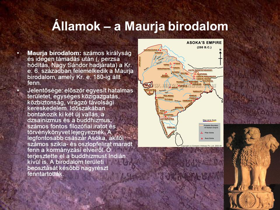 Államok – a Maurja birodalom