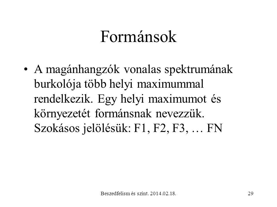 Formánsok