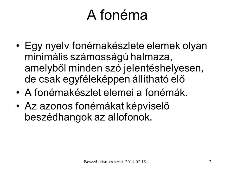 A fonéma