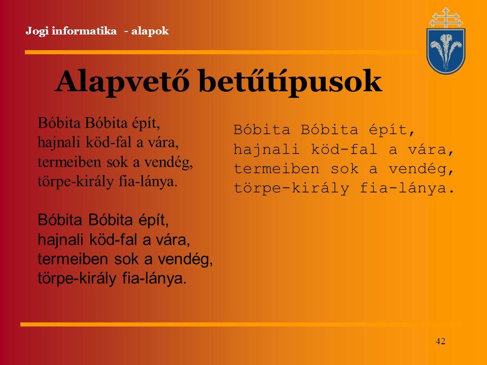 Alapvető betűtípusok Bóbita Bóbita épít, Bóbita Bóbita épít,