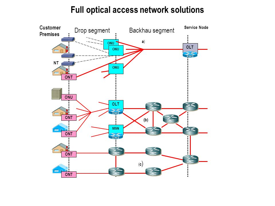 Full optical access network solutions