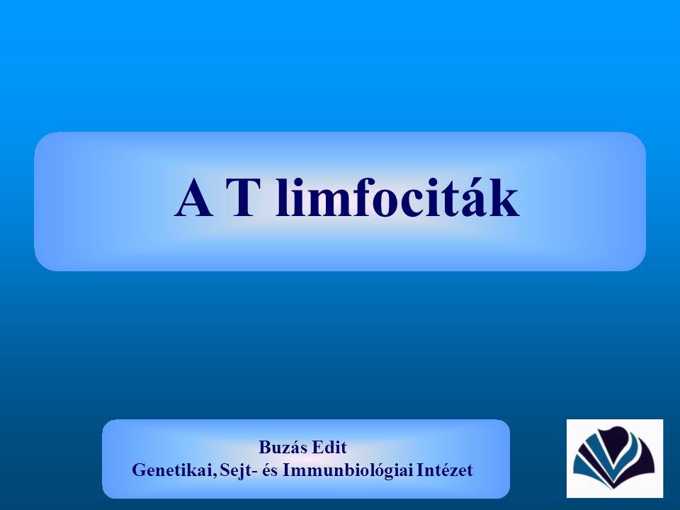 Buzás Edit Genetikai, Sejt- és Immunbiológiai Intézet