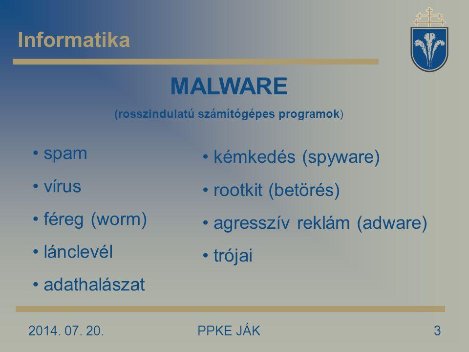 (rosszindulatú számítógépes programok)