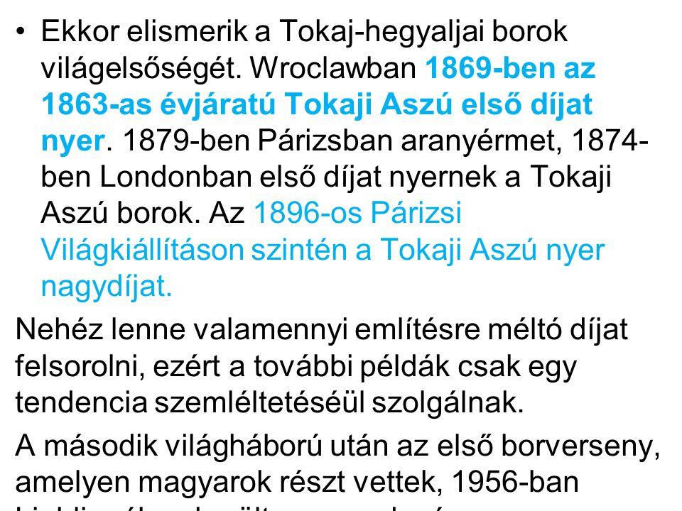 Ekkor elismerik a Tokaj-hegyaljai borok világelsőségét