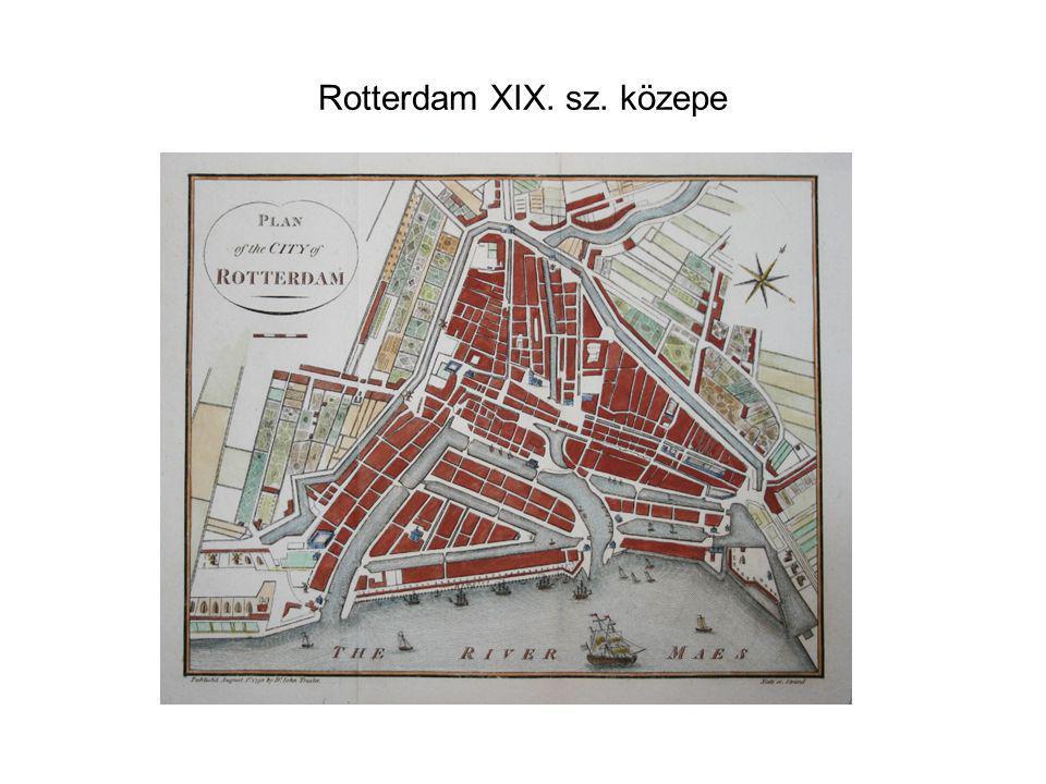 Rotterdam XIX. sz. közepe