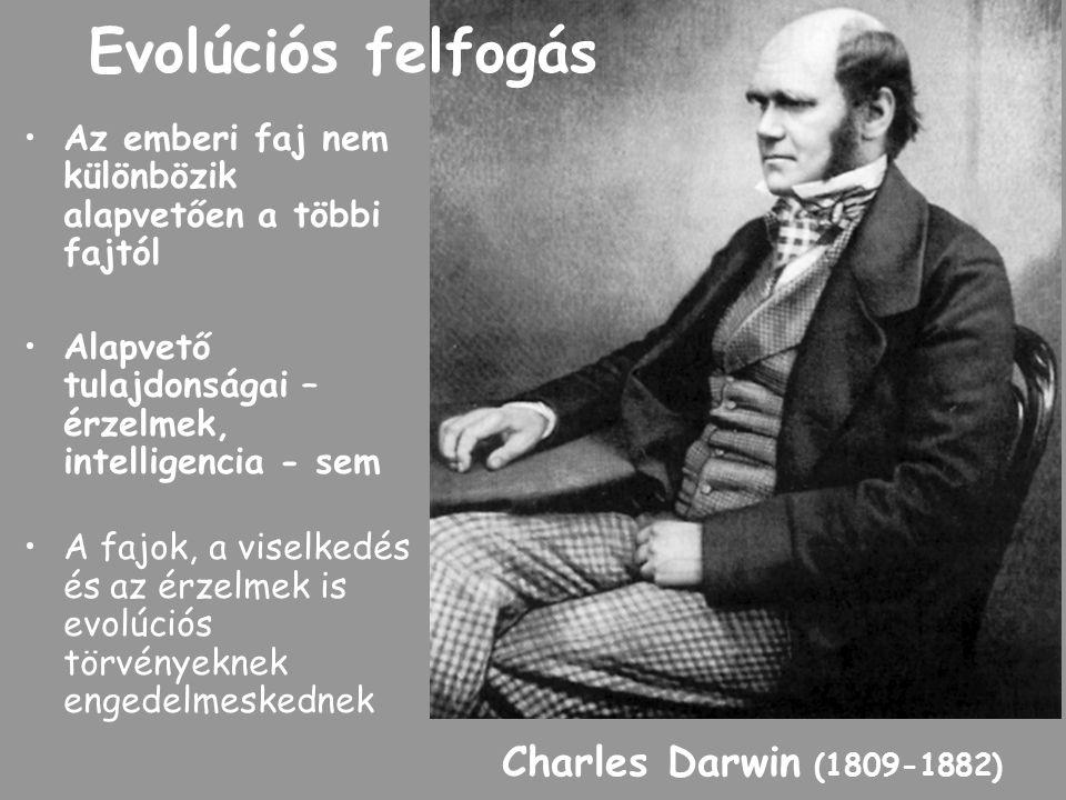 Evolúciós felfogás Charles Darwin (1809-1882)