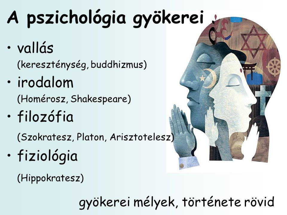 A pszichológia gyökerei