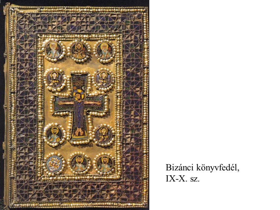 Bizánci könyvfedél, IX-X. sz.