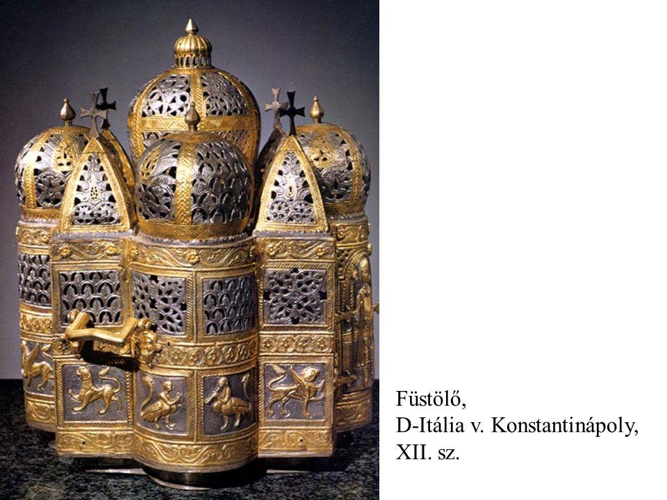 Füstölő, D-Itália v. Konstantinápoly, XII. sz.
