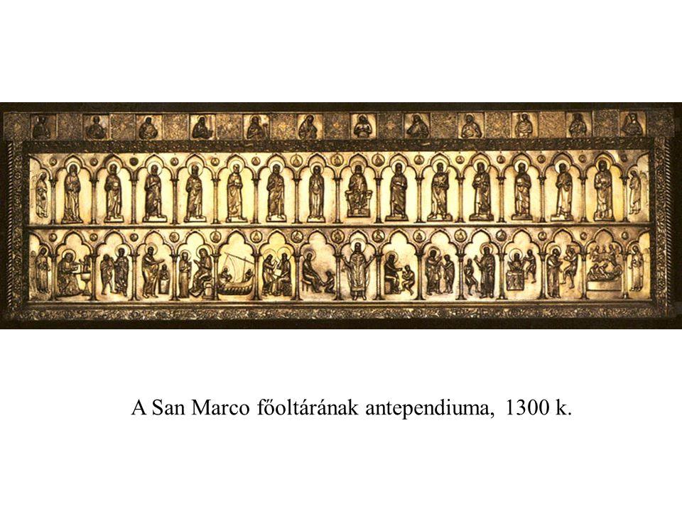 A San Marco főoltárának antependiuma, 1300 k.