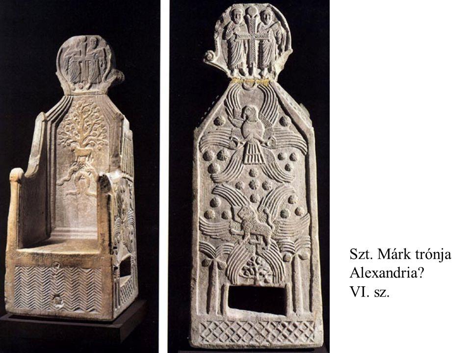 Szt. Márk trónja Alexandria VI. sz.