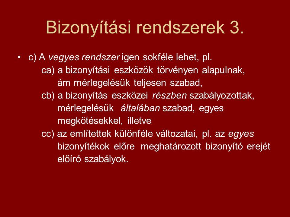Bizonyítási rendszerek 3.