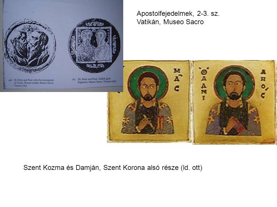Apostolfejedelmek, 2-3. sz. Vatikán, Museo Sacro