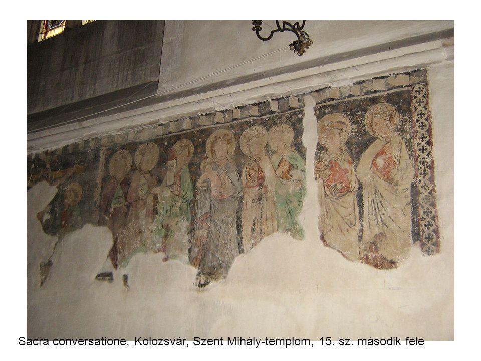 Sacra conversatione, Kolozsvár, Szent Mihály-templom, 15. sz