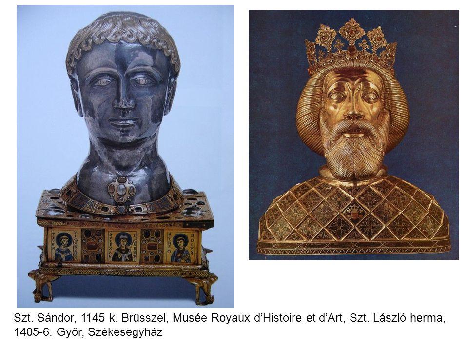 Szt. Sándor, 1145 k. Brüsszel, Musée Royaux d'Histoire et d'Art, Szt