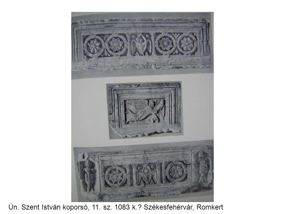 Ún. Szent István koporsó, 11. sz. 1083 k. Székesfehérvár, Romkert